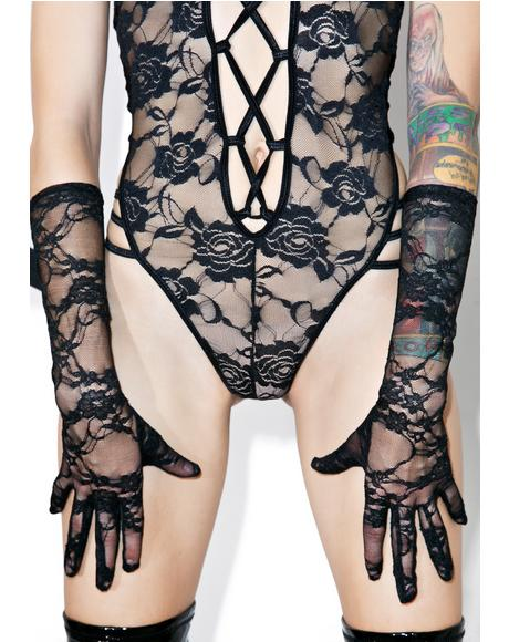 Lustworthy Lace Gloves