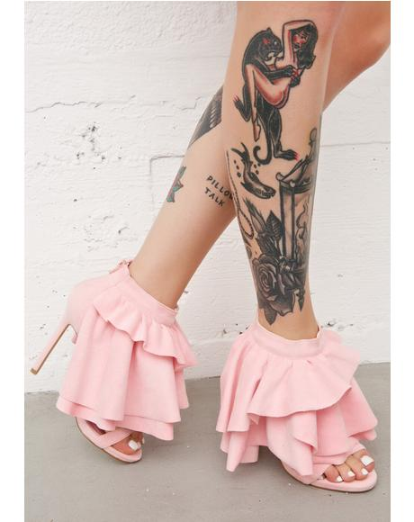Georgina Ruffled Heels