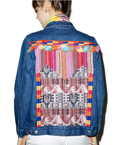 Interwoven Memories Denim Jacket