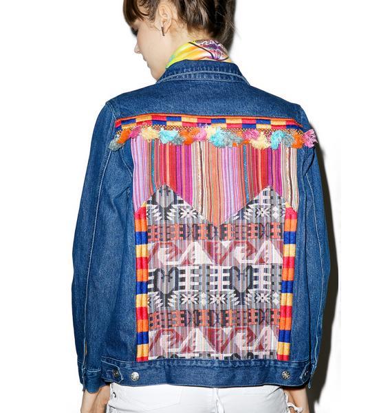 Interwoven Memories Denim Jacket