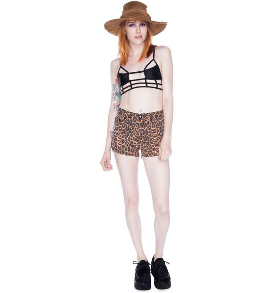 One Teaspoon Surrender Choppers Shorts
