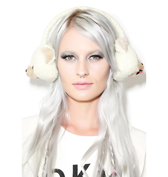 Beary Cute Plush Earmuffs