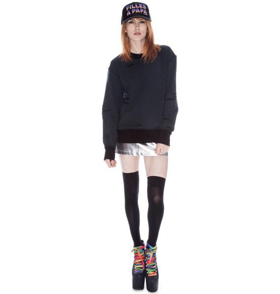 Macha Torn Sweater