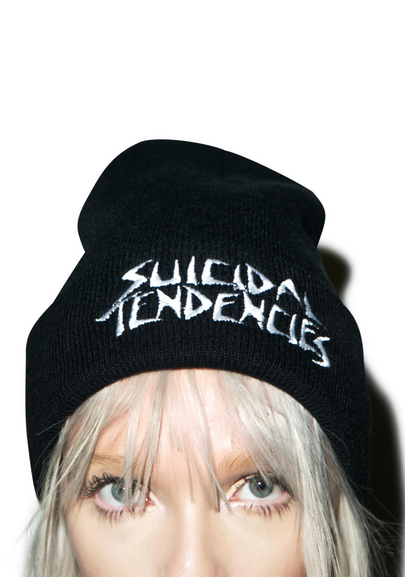 Suicidal Tendencies Logo Winter Beanie
