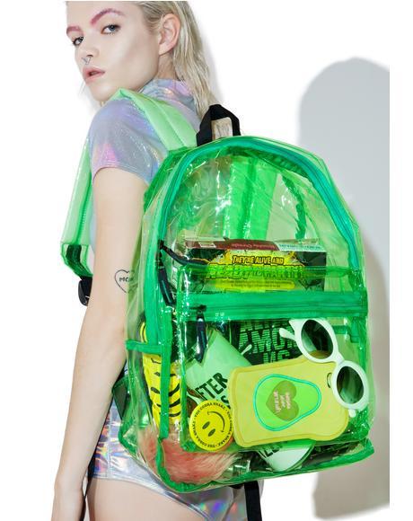 Slime Sunflyer See-Thru Backpack