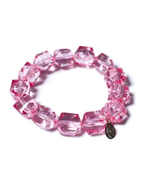 Pink Punker Bracelete