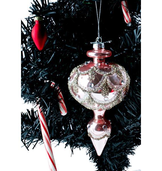 Princess Glitter Ornament