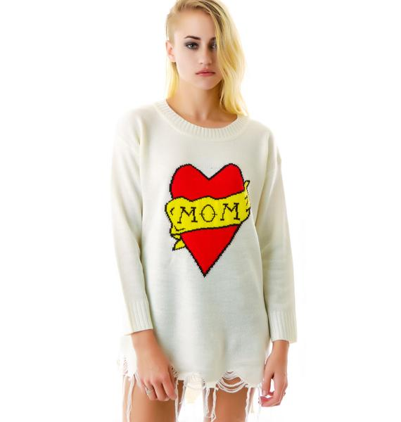 UNIF Mom Sweater