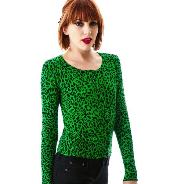 Lola Leopard Cardigan