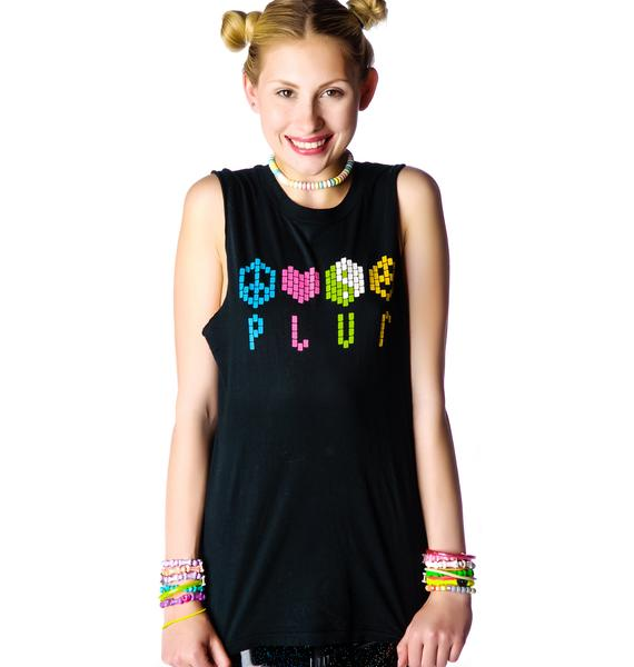 Petals and Peacocks PLUR Tank