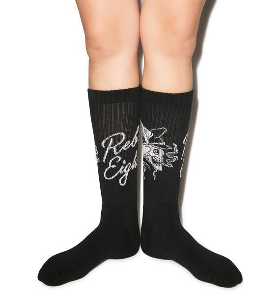 Rebel8 Ride Hard Socks