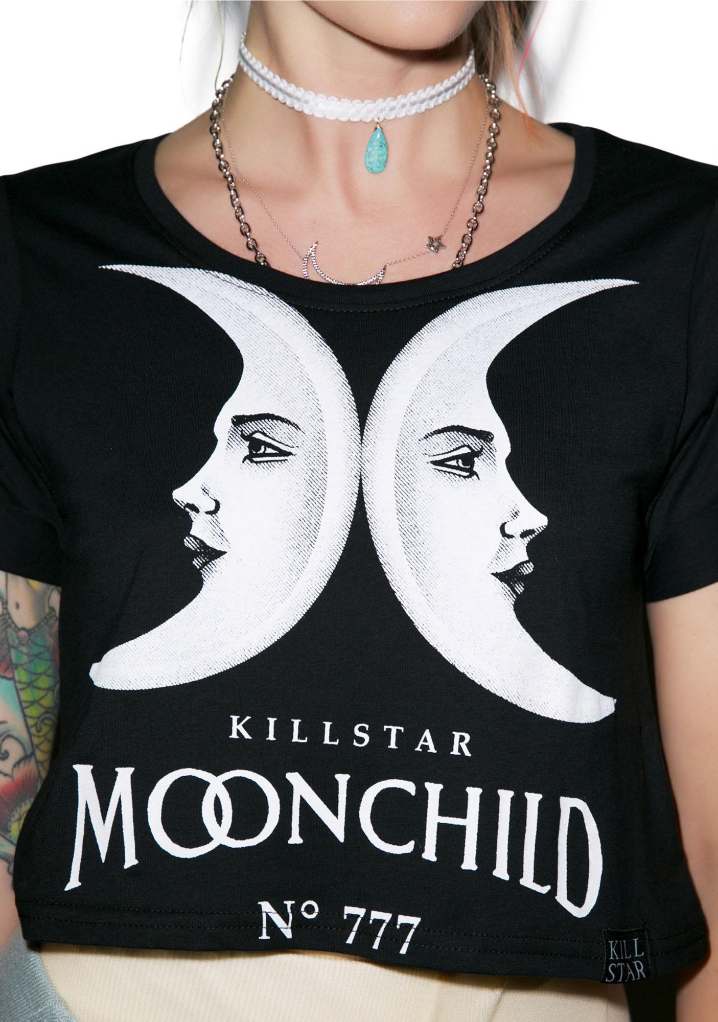 Killstar Moon Child Crop Top