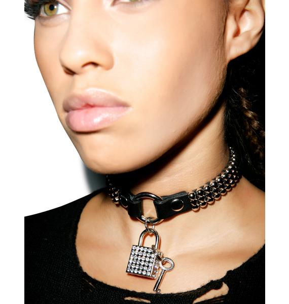 Club Exx Luvr's Bad Touch Choker