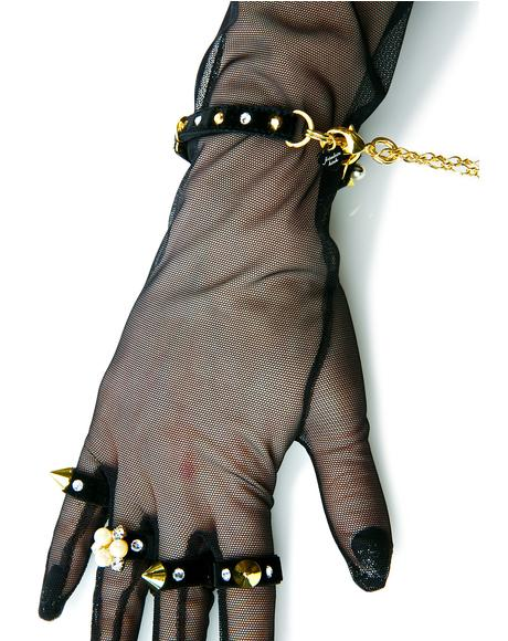 Tulle Glove Handcuffs