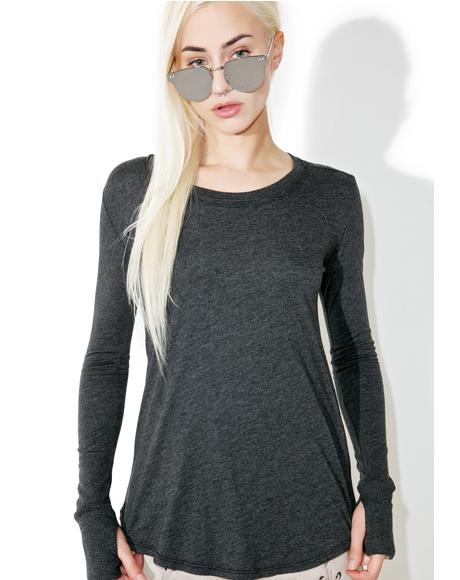 Black Vail Long Sleeve Tee
