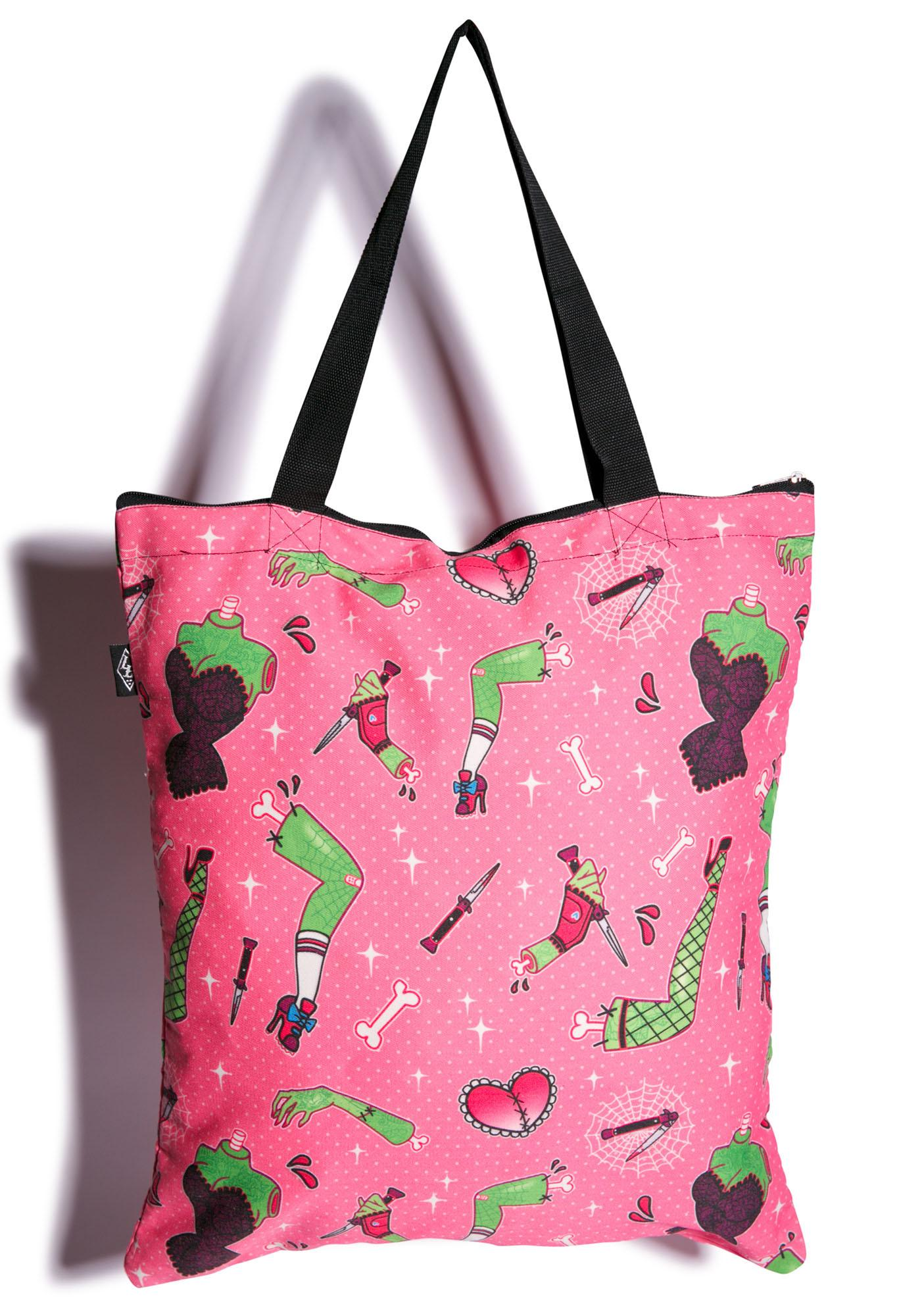 Bits N' Pieces Tote Bag