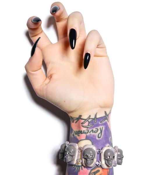 Tarina Tarantino Skull Poetry Myriad Bracelet