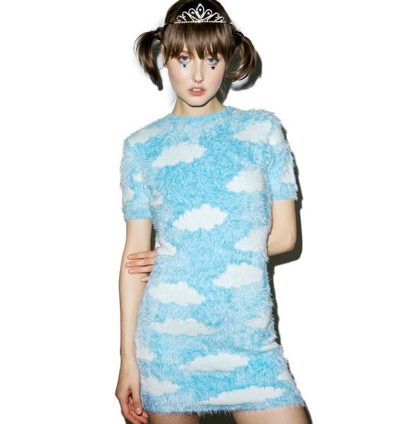 Lazy Oaf Fluffy Cloud Dress