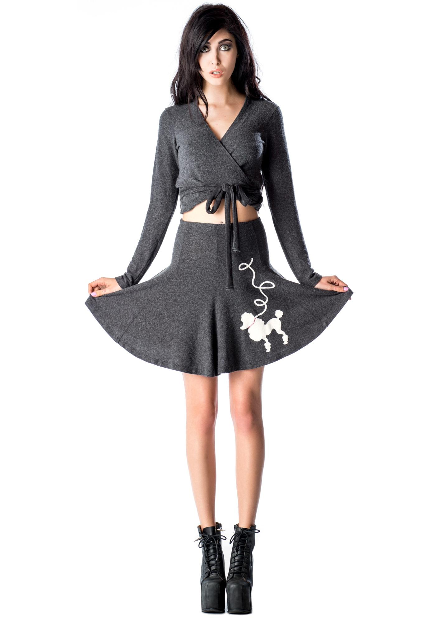 Wildfox Couture Grease Swinging Skirt