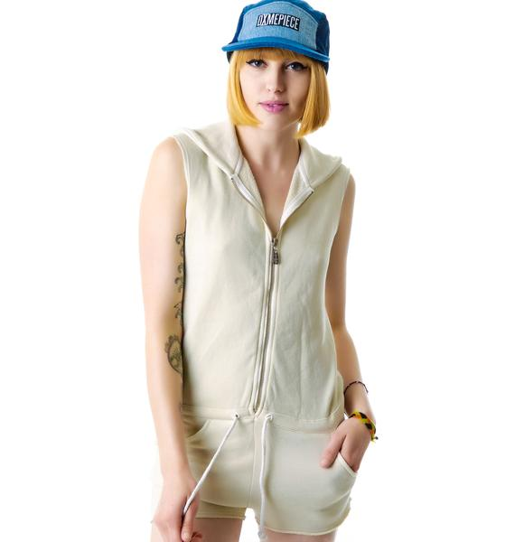 Day By Day Shorty Zip Romper