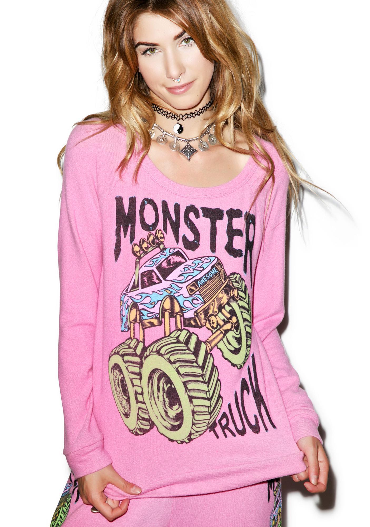 Lauren Moshi Brenna Monster Truck Pullover