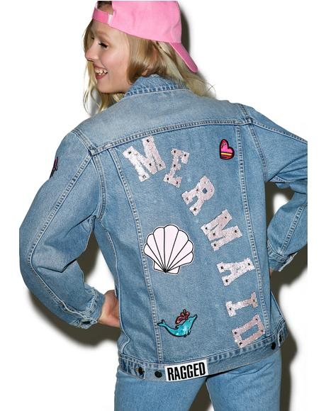 Splash Denim Jacket