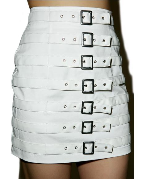 Divine Buckle Up Skirt