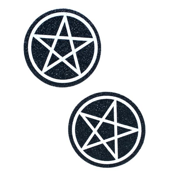 Pastease Nightrider Pentagram Pasties