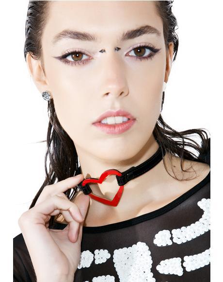Show Yer Heart O-Ring Choker