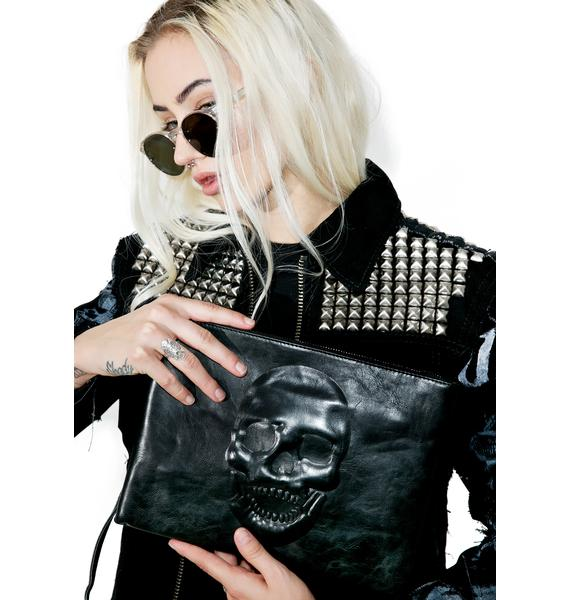 Love And Madness Killer Leather Bag