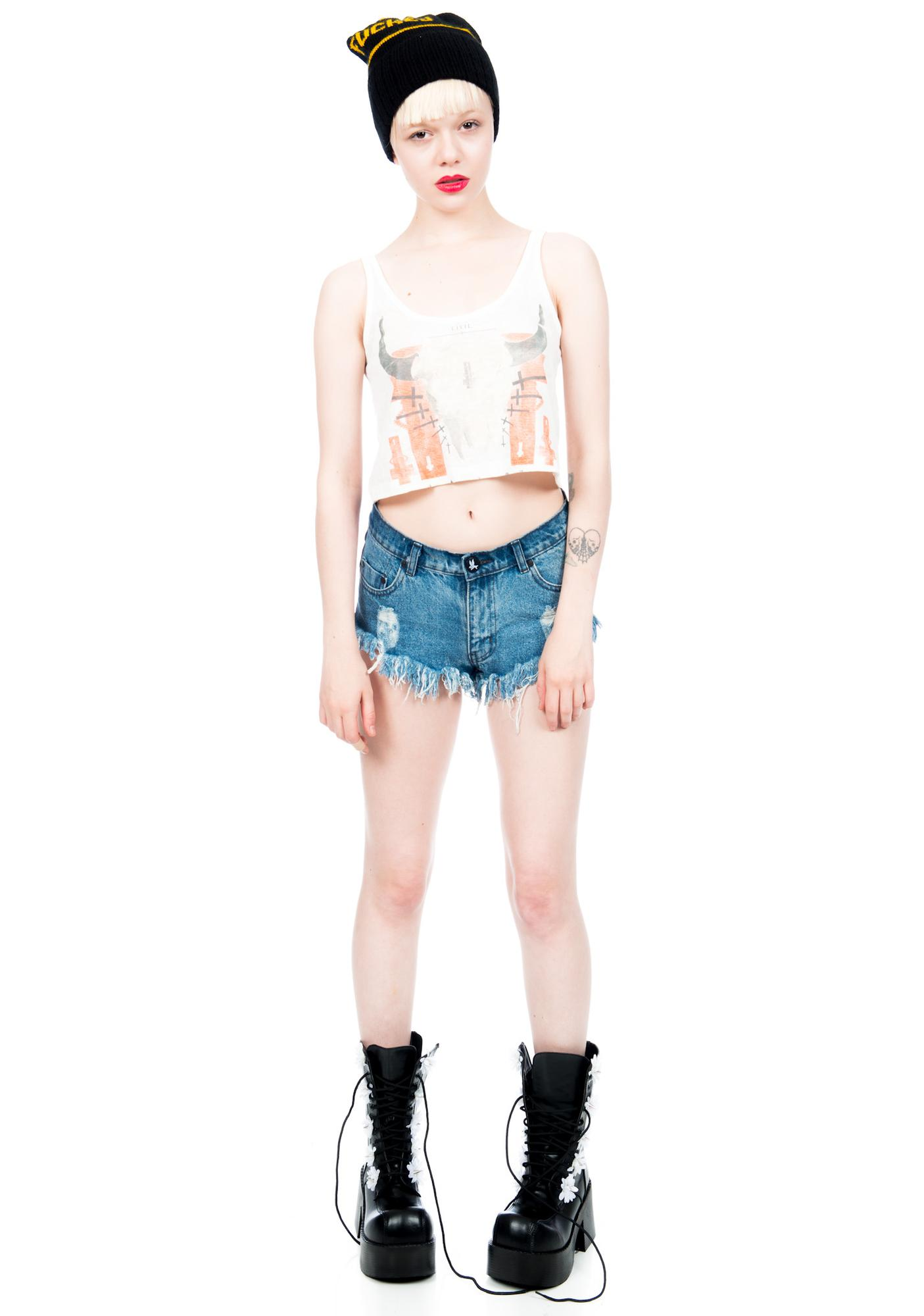 Civil Clothing Death Valley Crop Tee