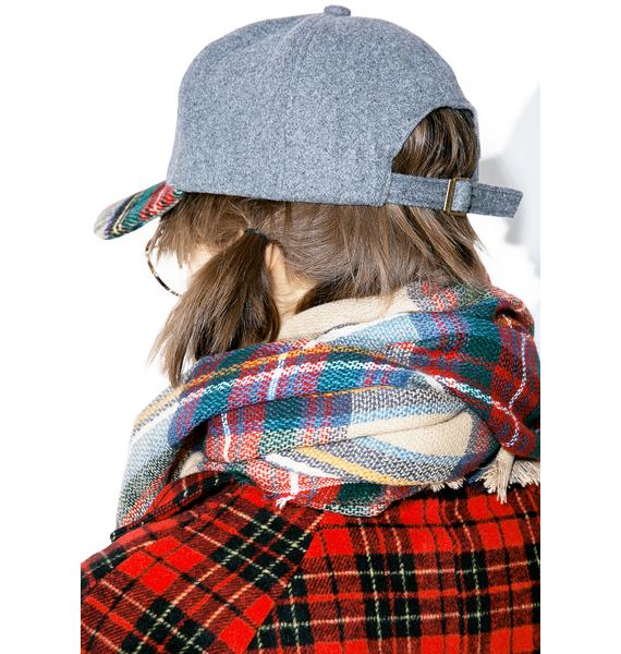 Daybreak Plaid Dad Hat