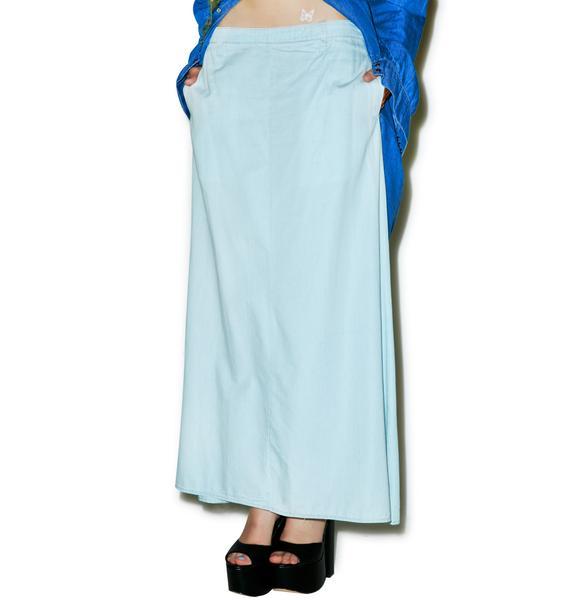 One Teaspoon Le Lover Maxi Skirt