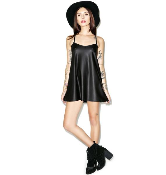 Motel Liquid Ink Meadow Slip Dress