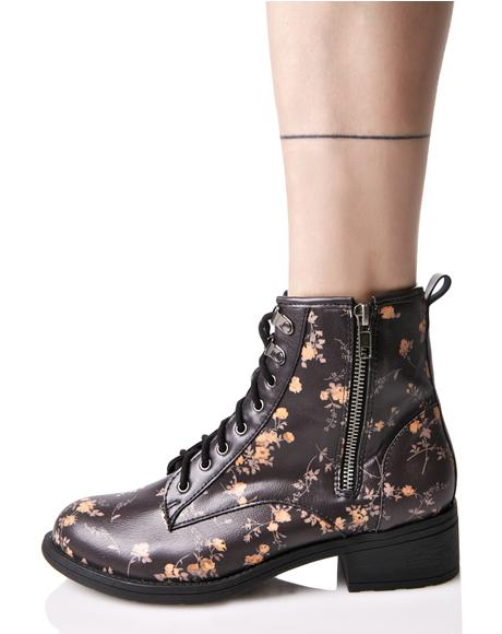 Primrose Lace-Up Boots