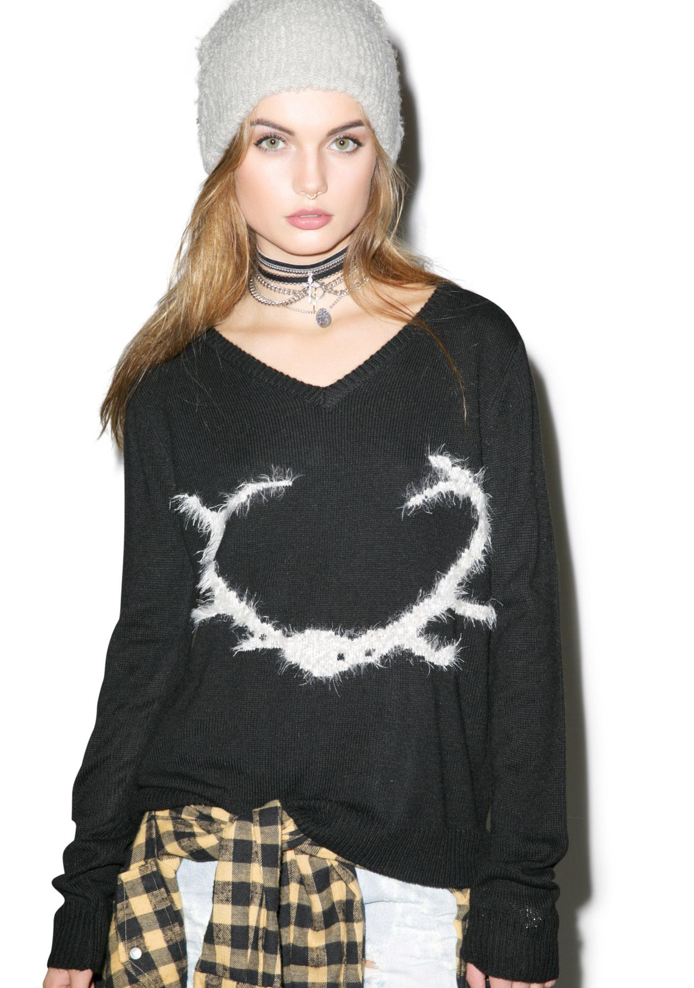 For Love & Lemons Antler Sweater