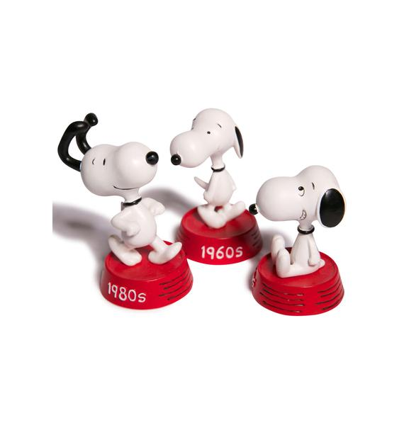 Snoopy Then & Now Mini Figures