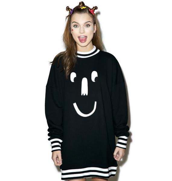Lazy Oaf Mono Face Sweatshirt