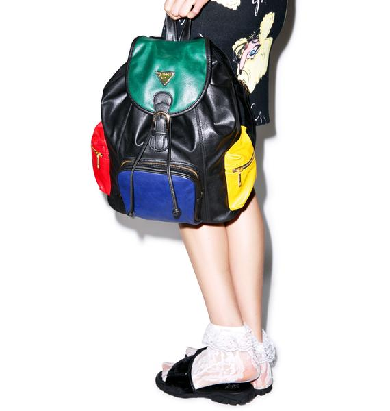 Joyrich Progressive Color Block Mini Backpack