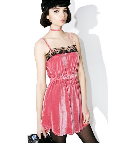 Argy Velvet Dress