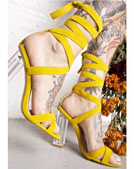 Persephone Wrap Heels