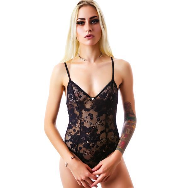 Gooseberry Intimates Edgy Body Suit