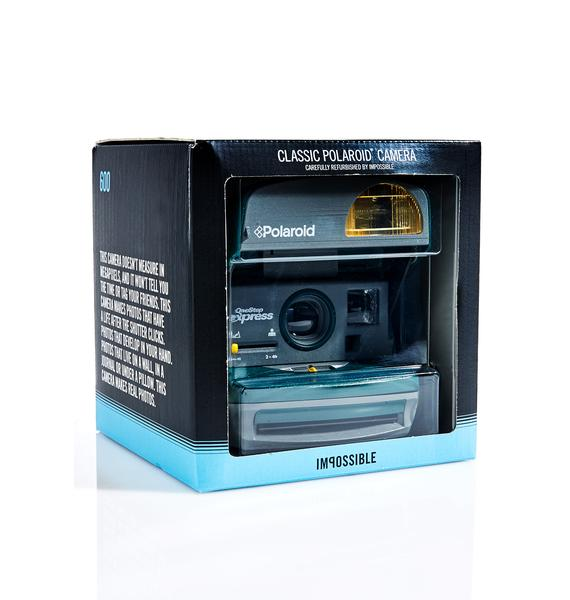 The Impossible Project Polaroid 600 Round Camera