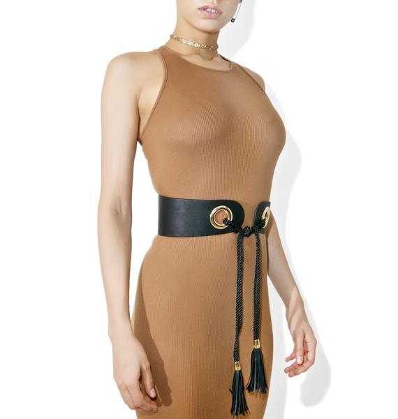Get Around Tassel Waist Belt