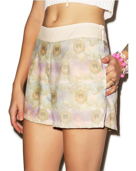 Come On Kitty Shorts