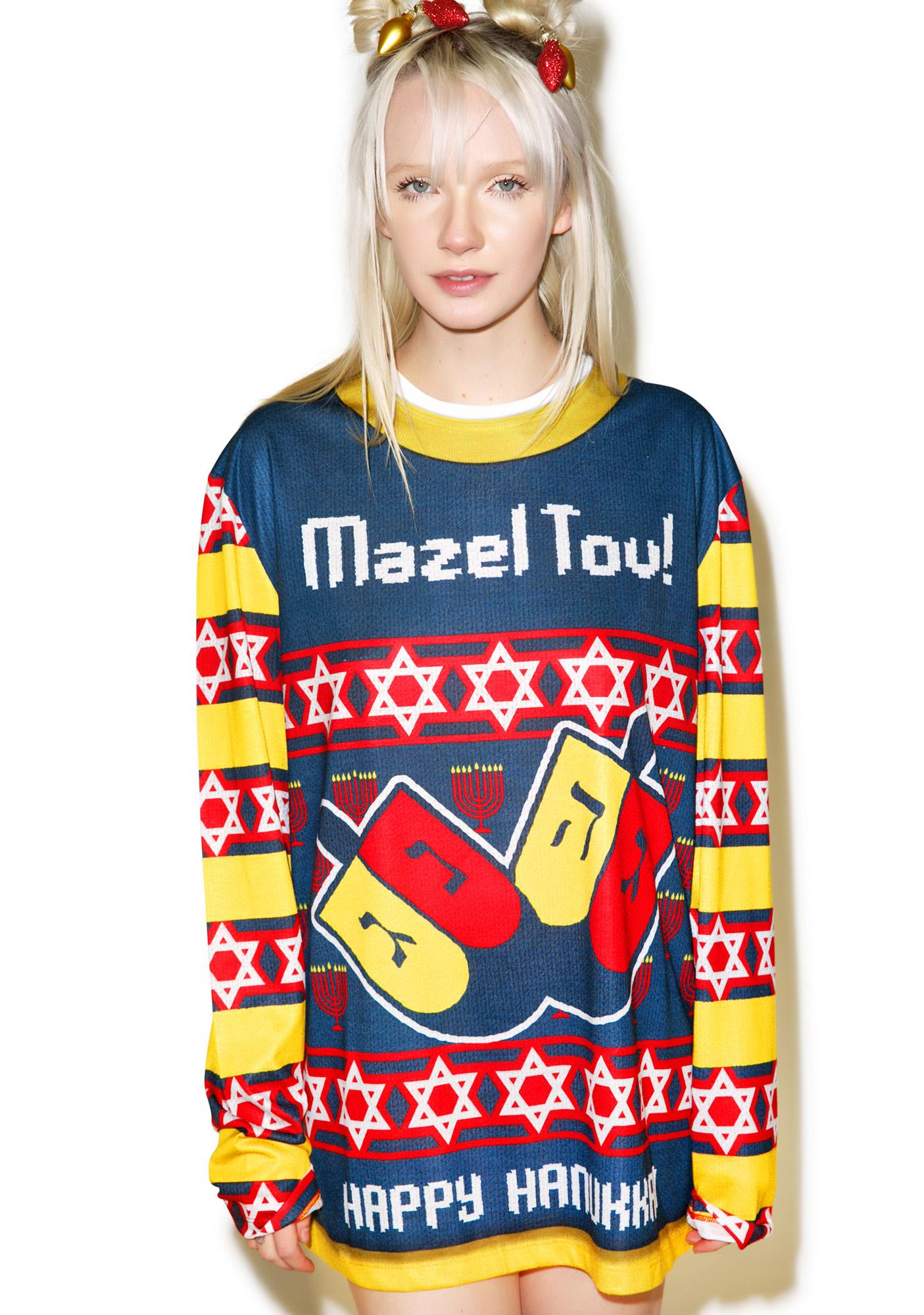 Mazel Tov Sweater Tee
