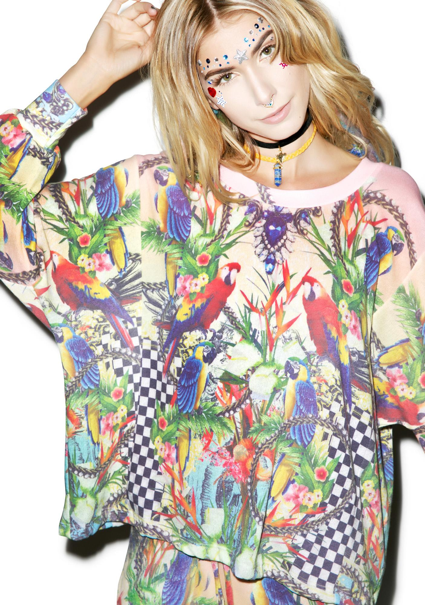 Wildfox Couture Crazy Town Nevada Jumper