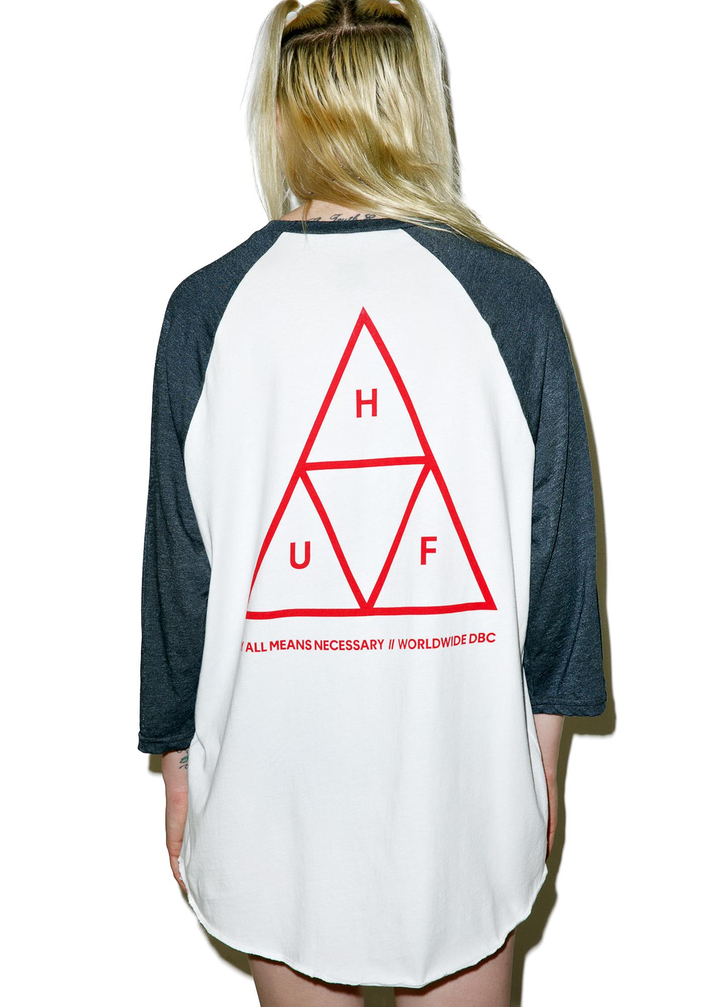 HUF Triple Triangle Raglan