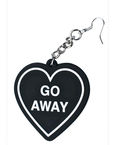 Go Away Earrings