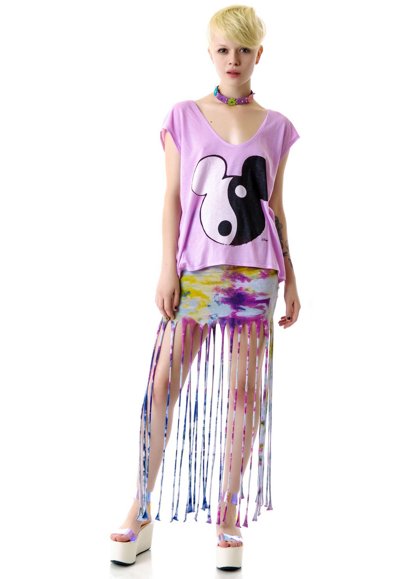 Junk Food Clothing Mickey Ying Yang